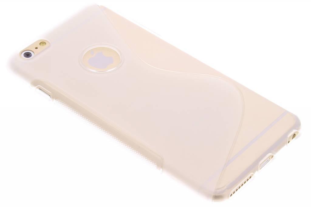 Transparant S-line TPU hoesje voor de iPhone 6(s) Plus