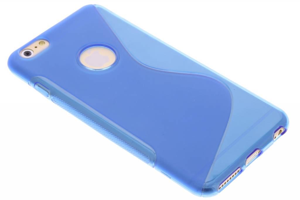 Blauw S-line TPU hoesje voor de iPhone 6(s) Plus