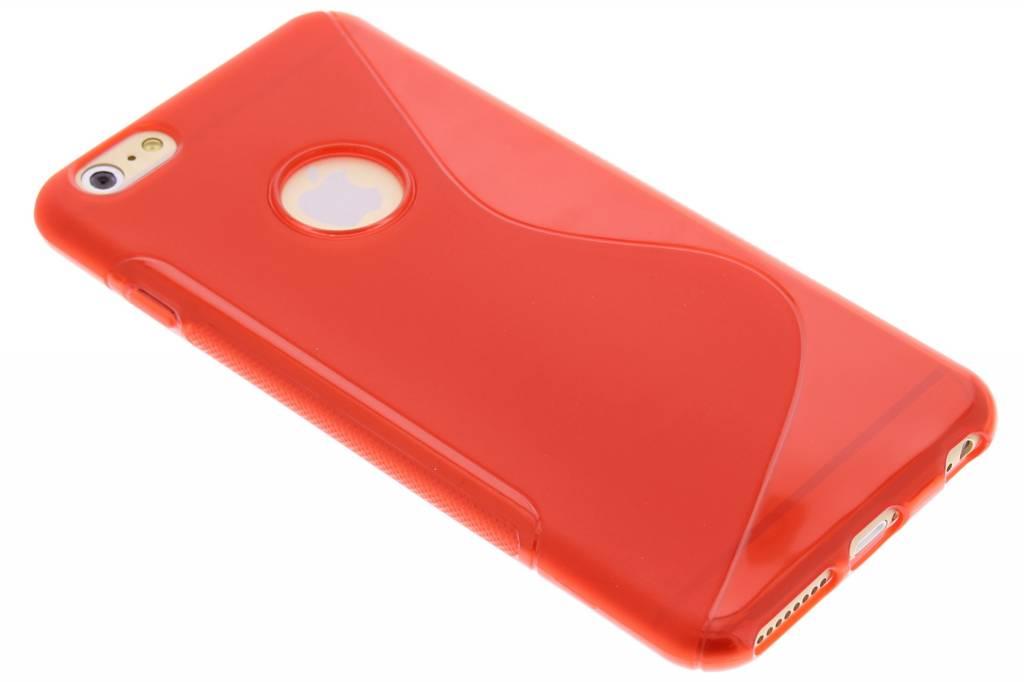 Rood S-line TPU hoesje voor de iPhone 6(s) Plus