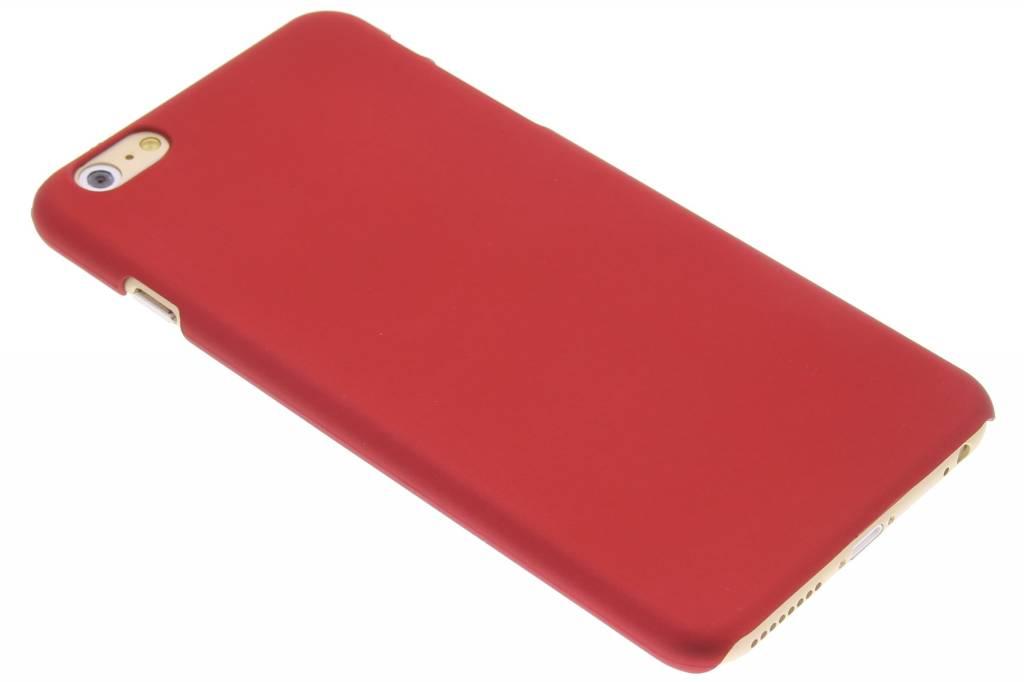 Rood effen hardcase hoesje voor de iPhone 6(s) Plus