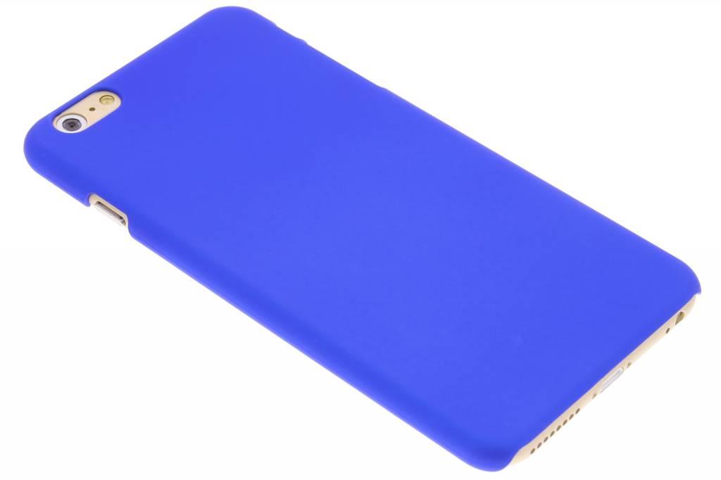 Blauwe effen hardcase hoesje voor de iPhone 6(s) Plus
