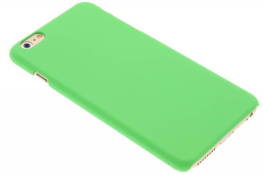 Groen effen hardcase hoesje voor de iPhone 6(s) Plus