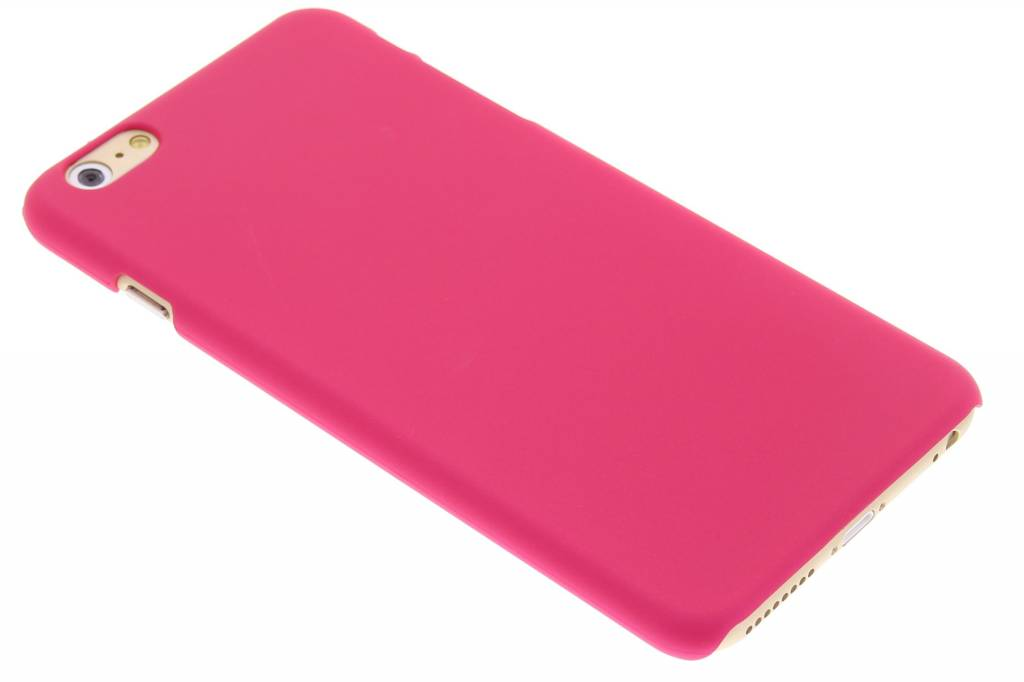 Fuchsia effen hardcase hoesje voor de iPhone 6(s) Plus