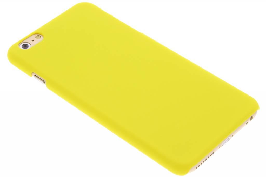 Geel effen hardcase hoesje voor de iPhone 6(s) Plus