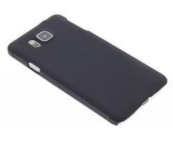 Zwart effen hardcase Samsung Galaxy Alpha