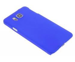 Blauw effen hardcase Samsung Galaxy Alpha