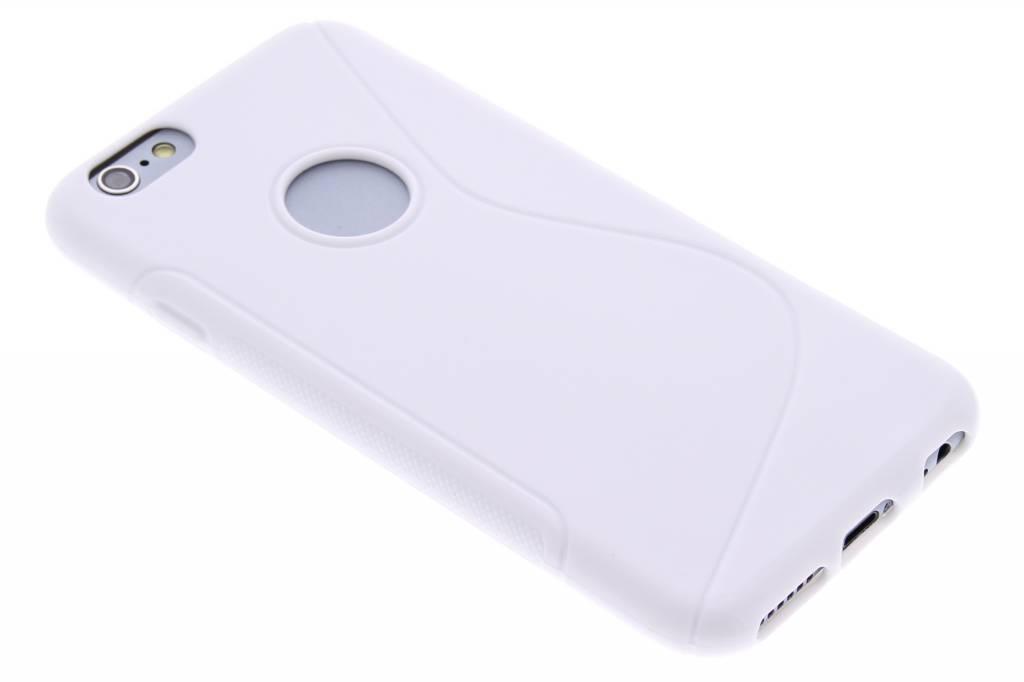 Wit S-line TPU hoesje voor de iPhone 6 / 6s