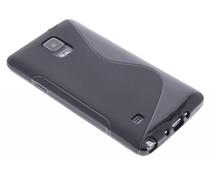 Zwart S-line TPU hoesje Samsung Galaxy Note 4