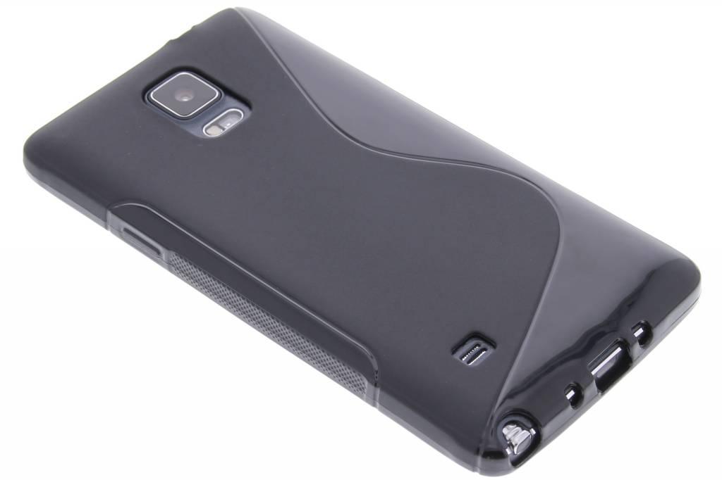 Zwart S-line TPU hoesje voor de Samsung Galaxy Note 4