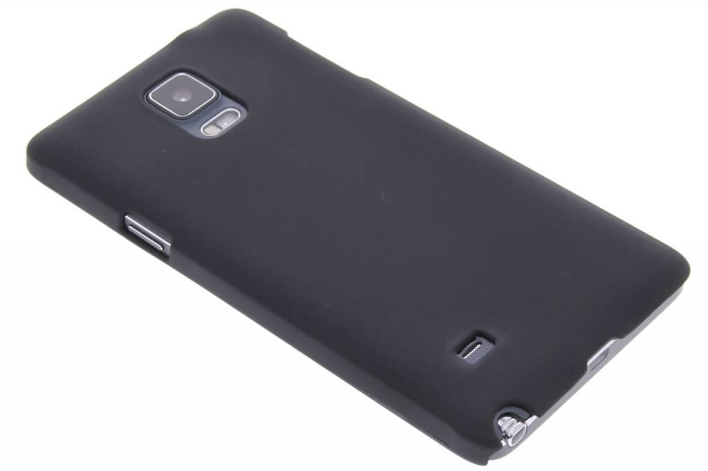 Zwart effen hardcase hoesje voor de Samsung Galaxy Note 4