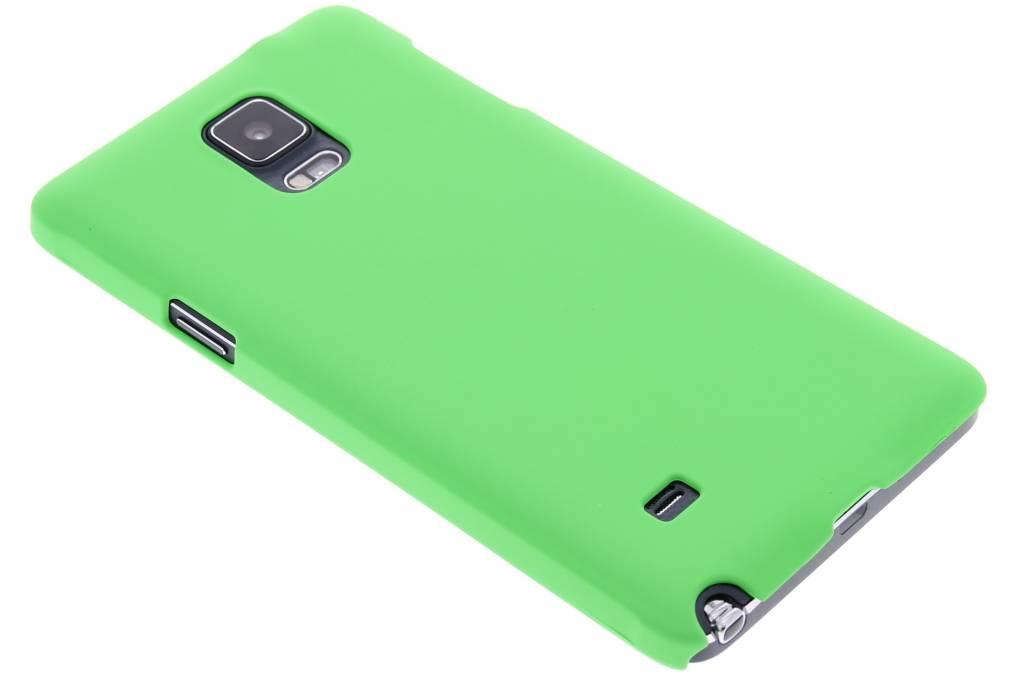 Groen effen hardcase hoesje voor de Samsung Galaxy Note 4