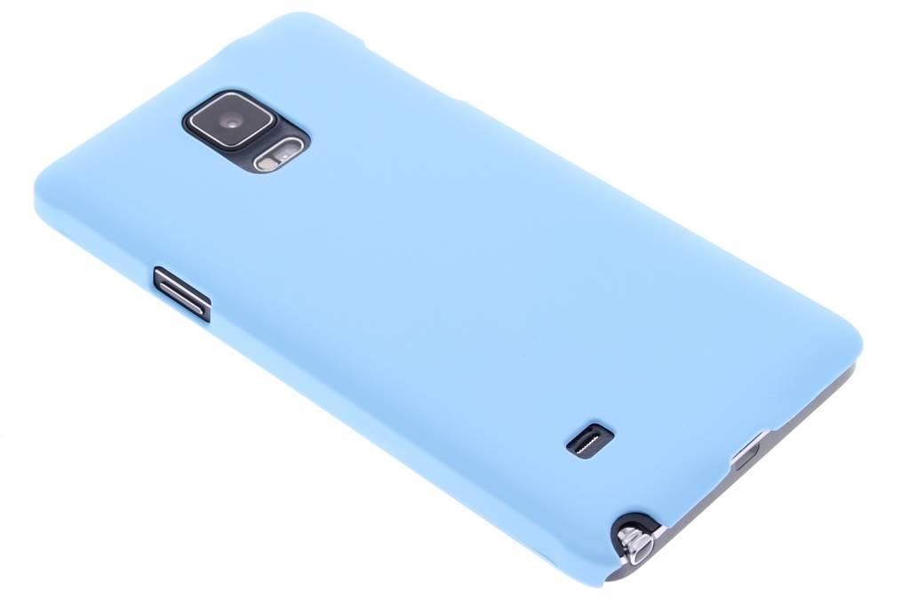 Turquoise effen hardcase hoesje voor de Samsung Galaxy Note 4