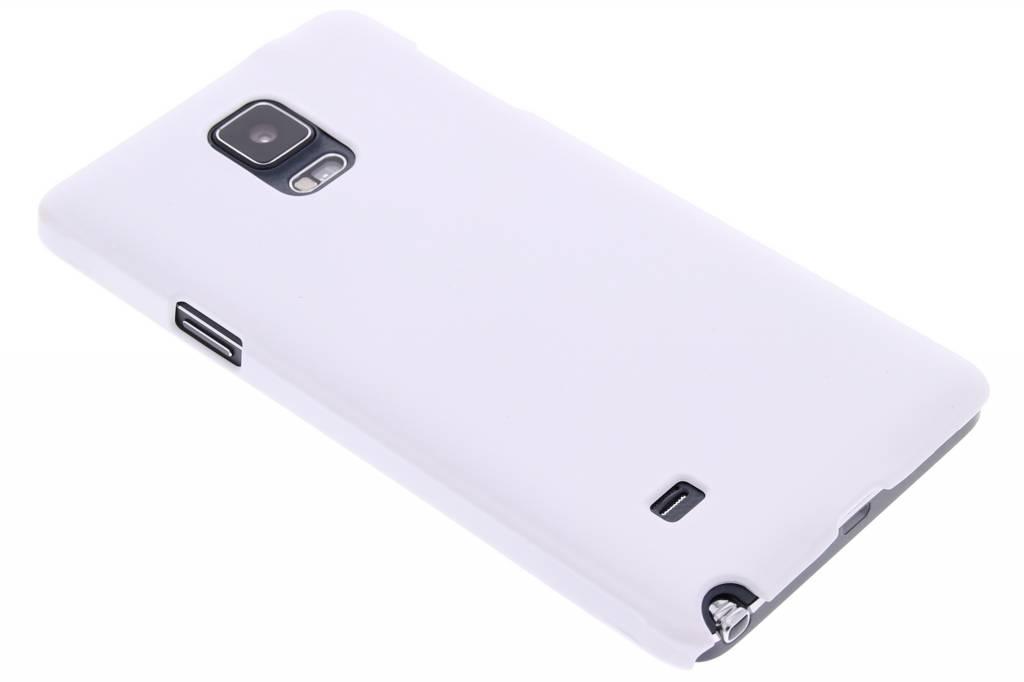 Wit effen hardcase hoesje voor de Samsung Galaxy Note 4
