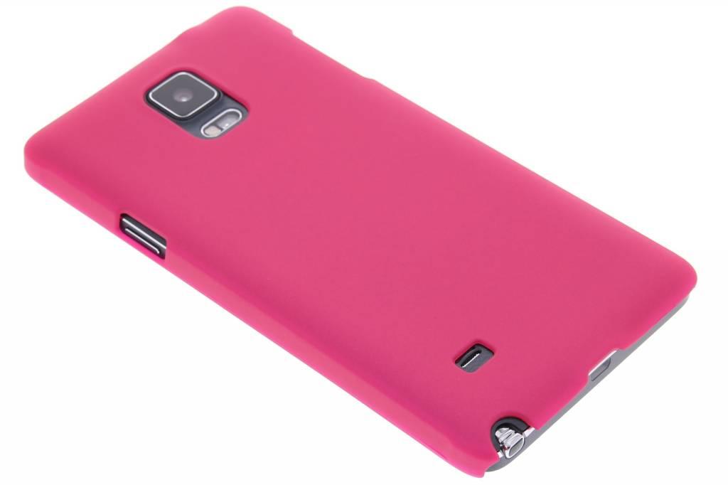 Fuchsia effen hardcase hoesje voor de Samsung Galaxy Note 4