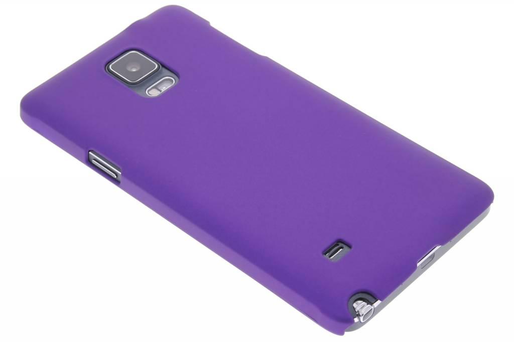 Paars effen hardcase hoesje voor de Samsung Galaxy Note 4