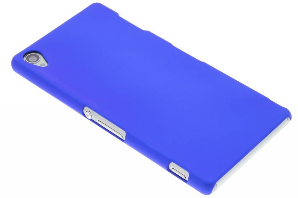 Blauw effen hardcase voor de hoesje Sony Xperia Z3