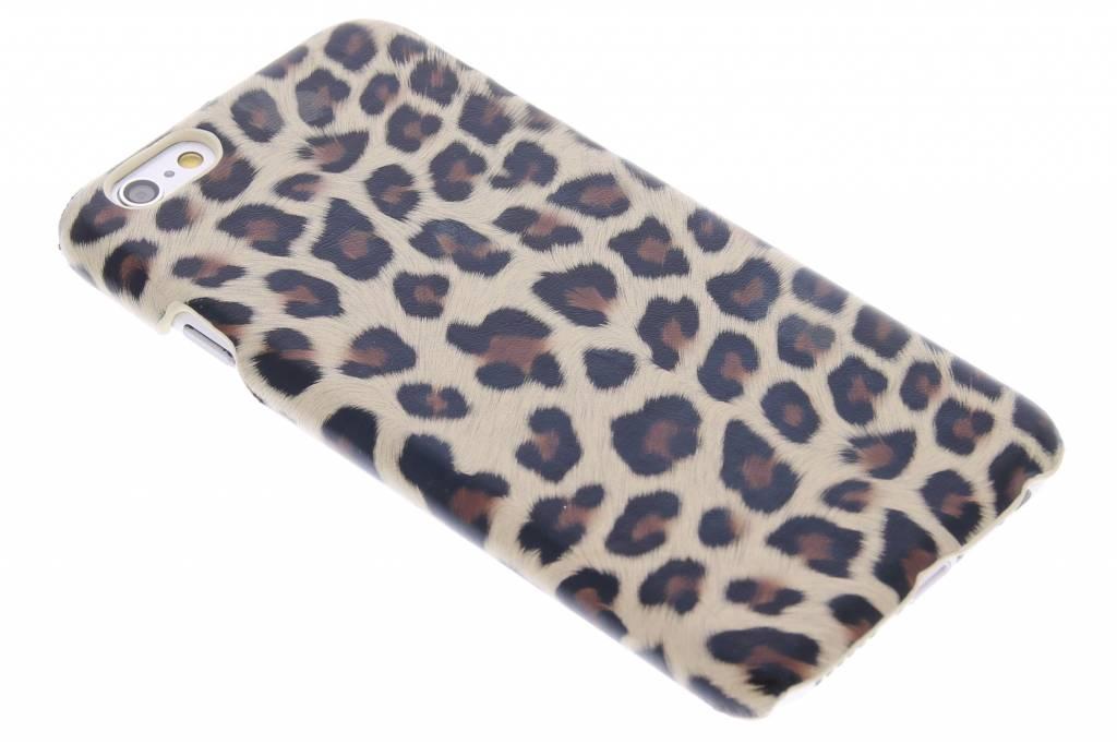 Bruin luipaard design hardcase hoesje voor de iPhone 6 / 6s
