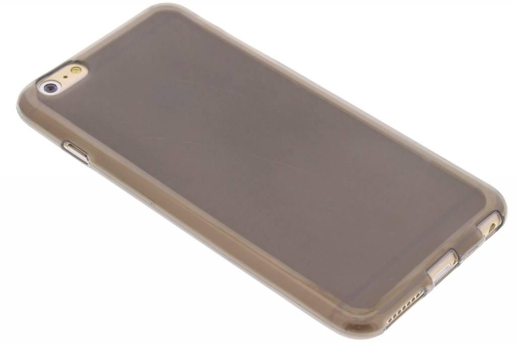 Grijs hard siliconen hoesje voor de iPhone 6(s) Plus