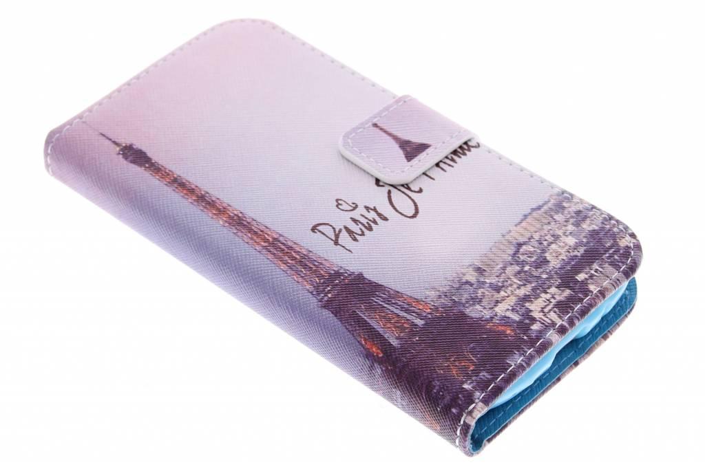 Parijs design TPU siliconen hoesje voor de Samsung Galaxy S3 / Neo