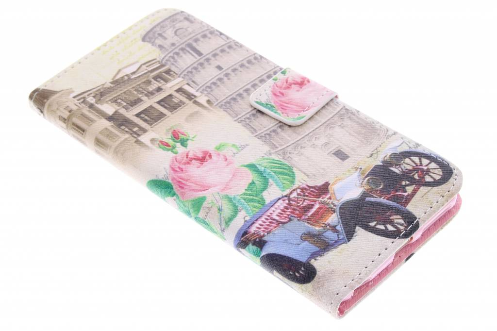 Toren van Pisa design TPU booktype hoes voor de iPhone 6 Plus