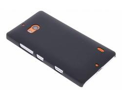 Zwart effen hardcase hoesje Nokia Lumia 930