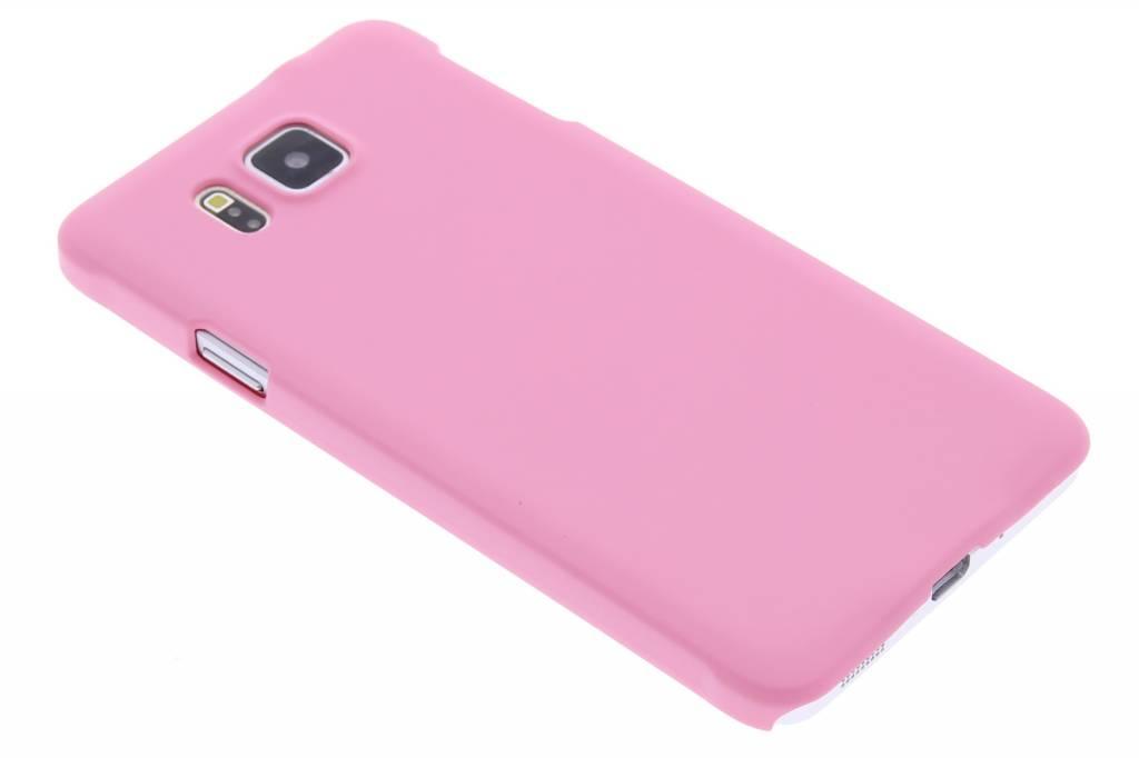 Roze effen hardcase hoesje voor de Samsung Galaxy Alpha
