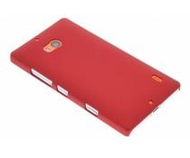 Rood effen hardcase hoesje Nokia Lumia 930