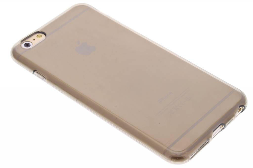 Grijze transparante gel case voor de iPhone 6(s) Plus