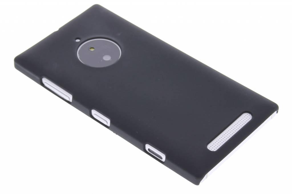Zwart effen hardcase hoesje voor de Nokia Lumia 830
