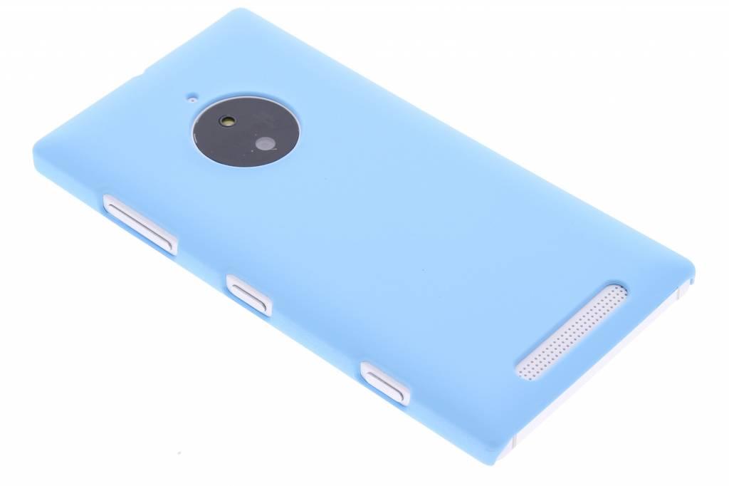 Turquoise effen hardcase hoesje voor de Nokia Lumia 830
