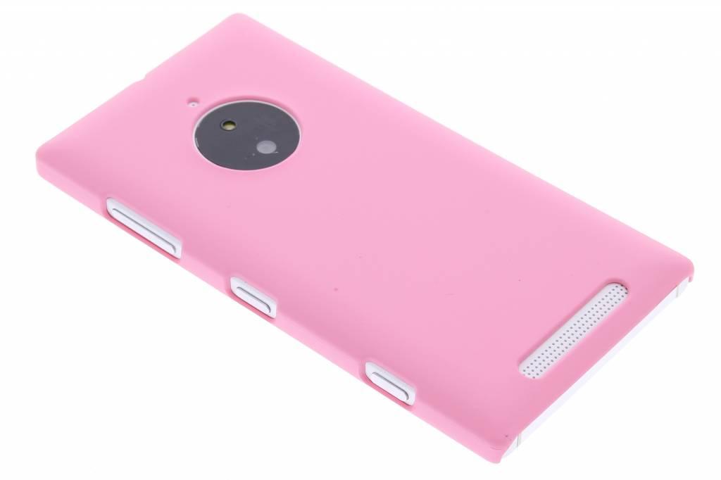 Roze effen hardcase hoesje voor de Nokia Lumia 830