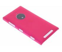 Fuchsia effen hardcase hoesje Nokia Lumia 830