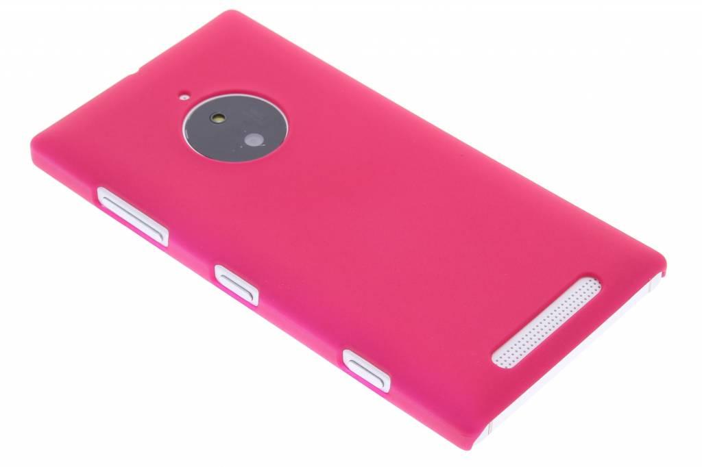 Fuchsia effen hardcase hoesje voor de Nokia Lumia 830