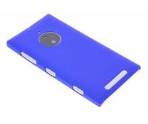 Blauw effen hardcase hoesje Nokia Lumia 830