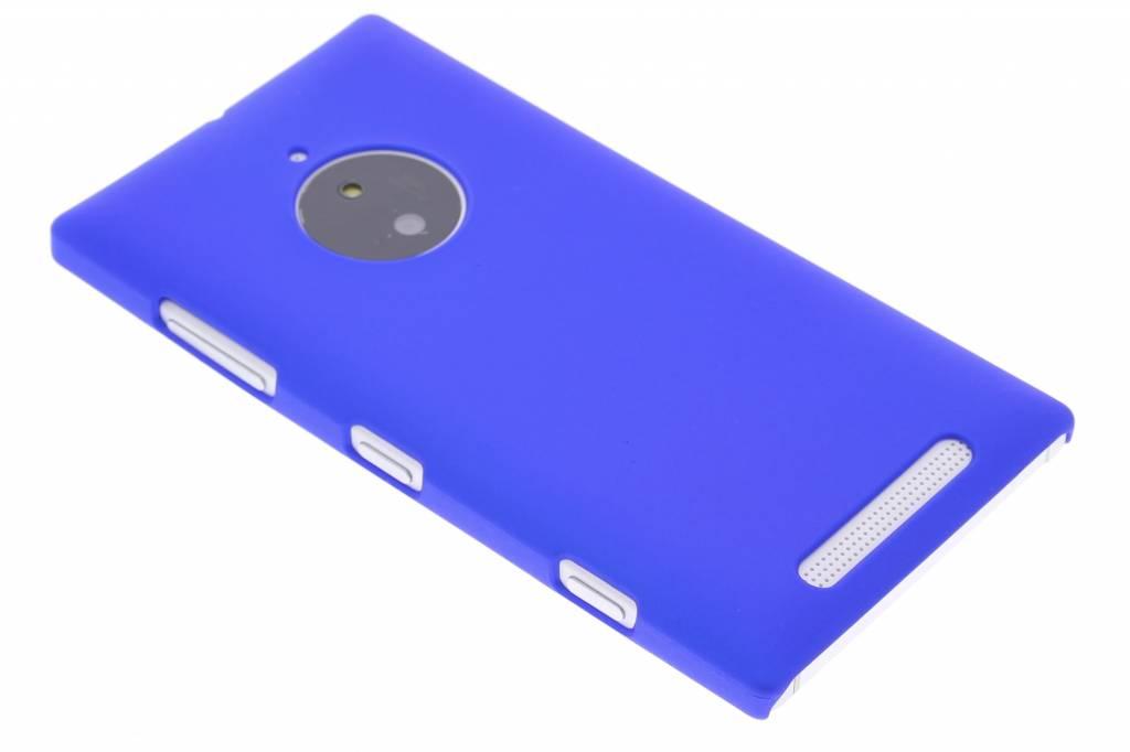 Blauw effen hardcase hoesje voor de Nokia Lumia 830