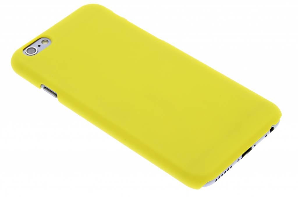 Gele effen hardcase hoesje voor de iPhone 6 / 6s