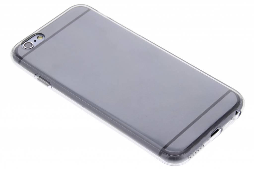 Grijze transparante gel case voor de iPhone 6 / 6s