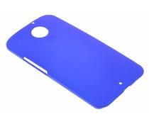 Blauw effen hardcase Motorola Moto X 2014