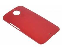 Rood effen hardcase Motorola Moto X 2014