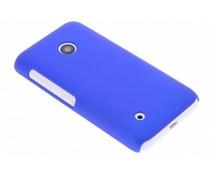 Blauw effen hardcase hoesje Nokia Lumia 530