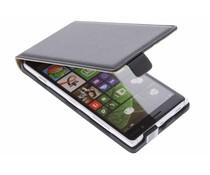 Zwart luxe flipcase Nokia Lumia 830