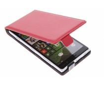 Rood luxe flipcase Nokia Lumia 830