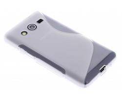 Transparant S-line TPU hoesje Samsung Galaxy Core 2