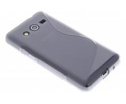 Grijs S-line TPU hoesje Samsung Galaxy Core 2