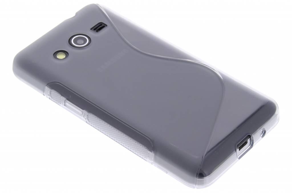 Grijs S-line TPU hoesje voor de Samsung Galaxy Core 2