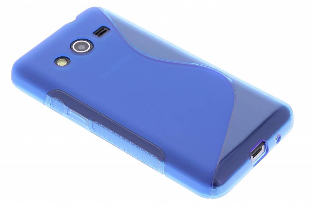 Blauw S-line TPU hoesje voor de Samsung Galaxy Core 2