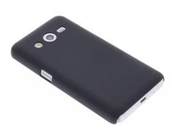 Zwart effen hardcase hoesje Samsung Galaxy Core 2