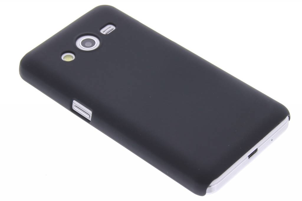 Zwart effen hardcase hoesje voor de Samsung Galaxy Core 2