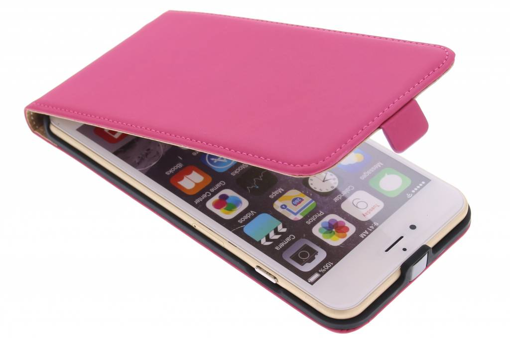 Mobiparts Premium flipcase voor de iPhone 6(s) Plus - Pink
