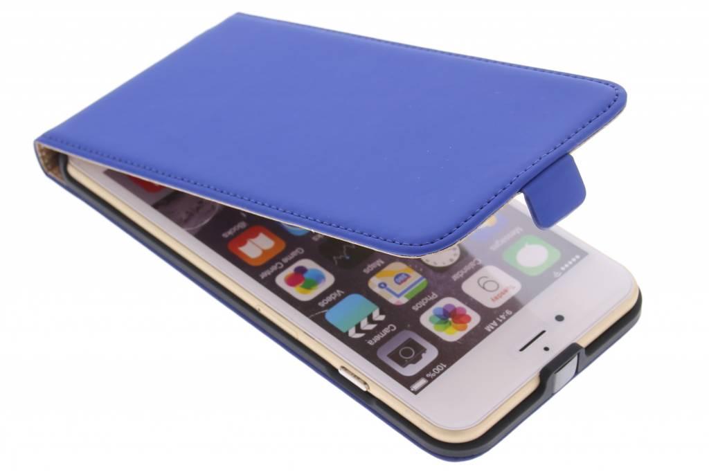 Mobiparts Premium flipcase voor de iPhone 6(s) Plus - Blue